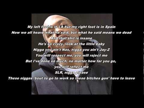 Lupe Fiasco- SLR 2 Lyrics (Kendrick Lamar Diss) NEW