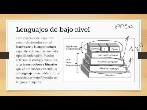 cuadro comparativo de lenguaje de alto y bajo nivel
