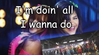 Bella thorne & Zendeya coleman [Shake it up] - Watch Me (lyrics)