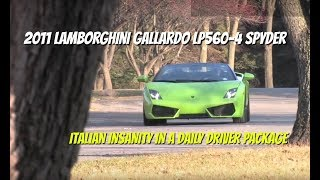 Lamborghini Gallardo LP560-4 Spyder **SOLD** - Video Test Drive with Chris Moran - Supercar Network