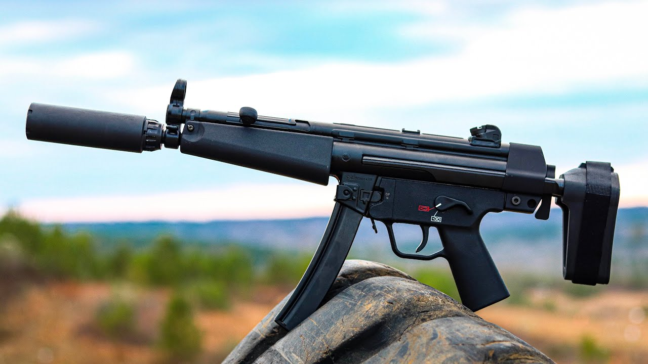 HK SP5   The No Compromise MP5 - YouTube