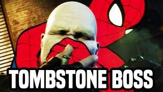 TOMBSTONE BOSS SPIDER-MAN PS4! Gameplay Walkthrough Part 30 (PS4 PRO Spiderman Gameplay)