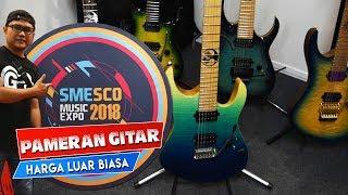 Pameran Gitar, Efek & Aksesoris Buatan Lokal - Smesco Music Expo 2018