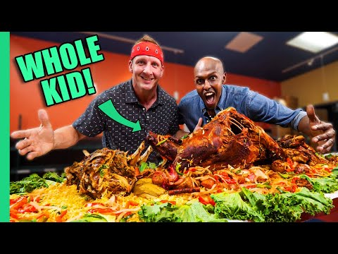 Download Eating Somalia!! Africa's MYSTERY Cuisine!!