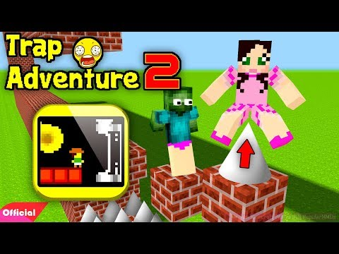 Monster School PopularMMOs Pat And Jen Minecraft: TRAP ADVENTURE 2 CHALLENGE ( Minecraft Animation )