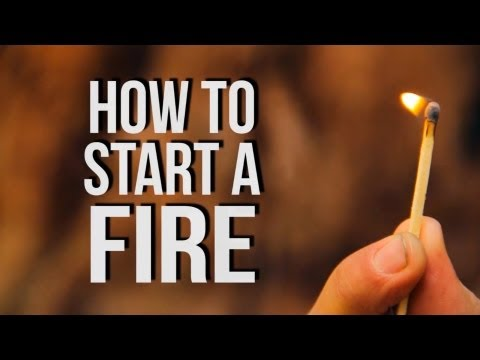 How To Start A Campfire - D-I-Why Not?