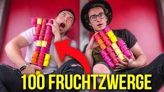 100 FRUCHTZWERGE ESSEN! (FIFA CHALLENGE)