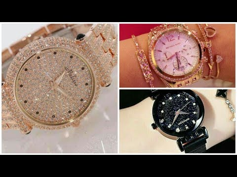 Latest Beautifull Wrist Watch Wear For Girls