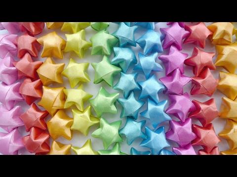Origami Star - DIY Paper Origami Lucky Star Tutorial