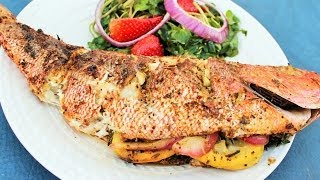 How to Grill Red Snapper