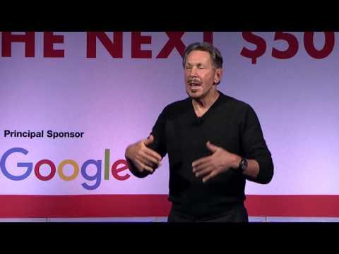 Larry Ellison, Oracle Corporation, On The Next $50 Billion And Data