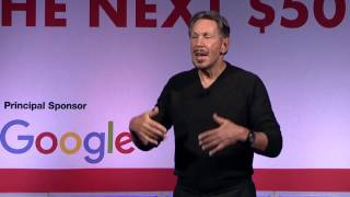 Larry Ellison, Oracle Corporation, on the Next $50 Billion and Data