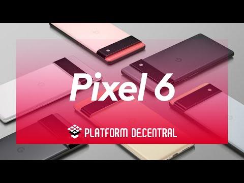Say hello to Google Pixel 6