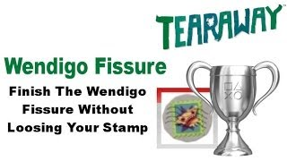 Tearaway PS VITA - 1080P - How To Get The Wendigo Fissure SILVER Trophy!