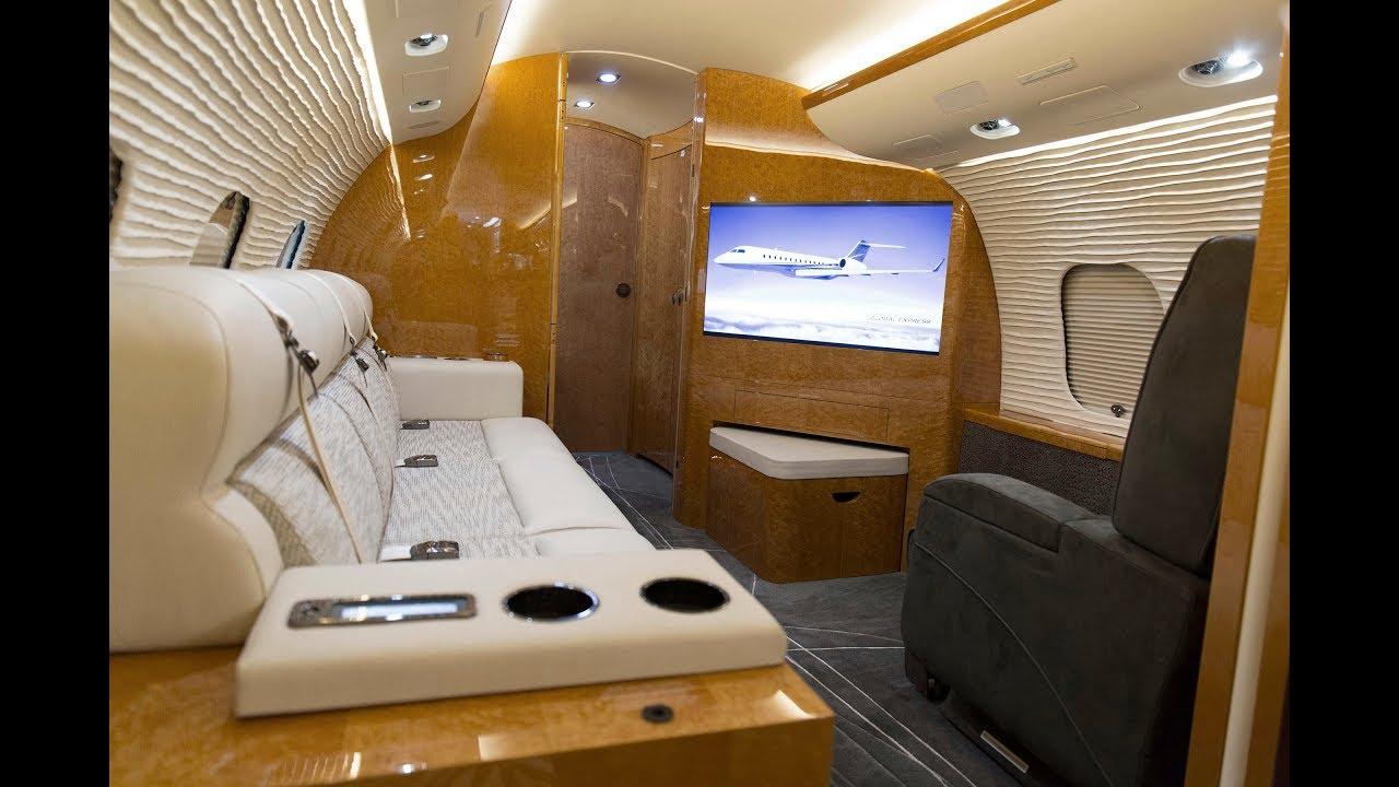 Bombardier Global Express Interior Refurbishment Youtube