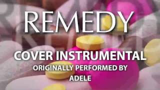 Remedy (Cover Instrumental) [In the Style of Adele]