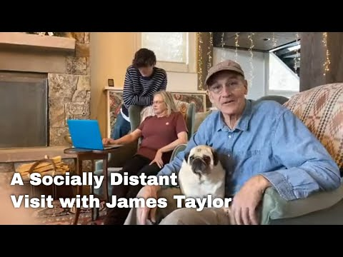 A Socially Distant Visit With James Taylor - FB Live Event