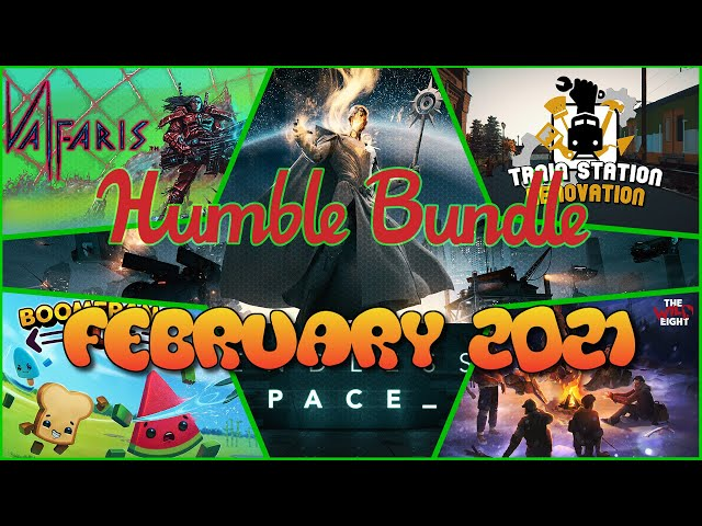 Humble Bundle Preview - February 2021
