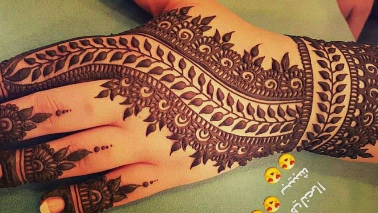 Mehndi Designs Beautiful : Stunning and beautiful mehndi design for backhand easy