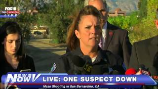 FNN: Mass Shooting in San Bernardino, California Press Conference