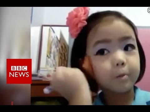 Meet the 10 year-old professional make-up artist - BBC News