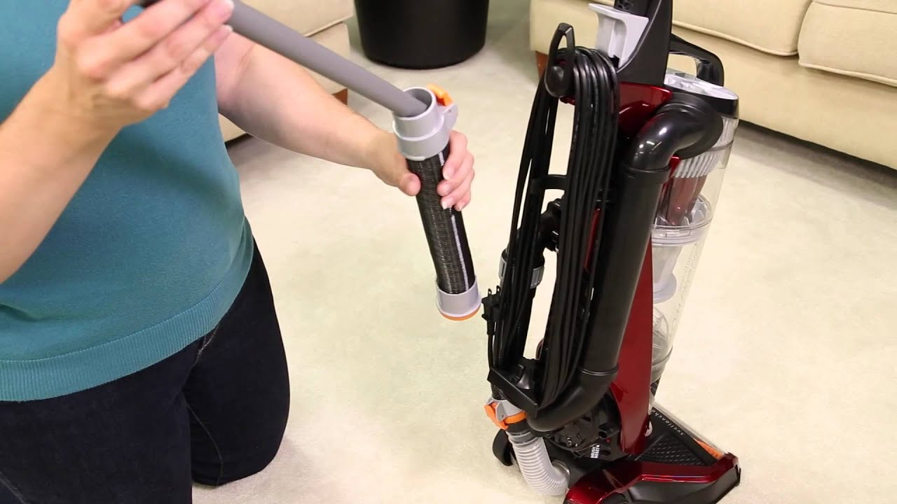 How To Assemble BISSELLR PowerGlideR Pet Vacuum With SuctionChannel TechnologyTM Assembly