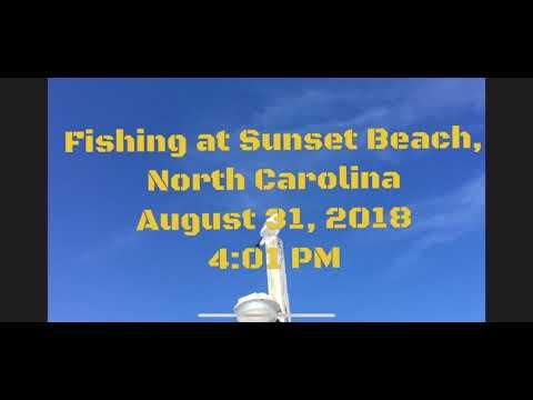 Sunset Beach Fishing Pier Fishing(August 2018)