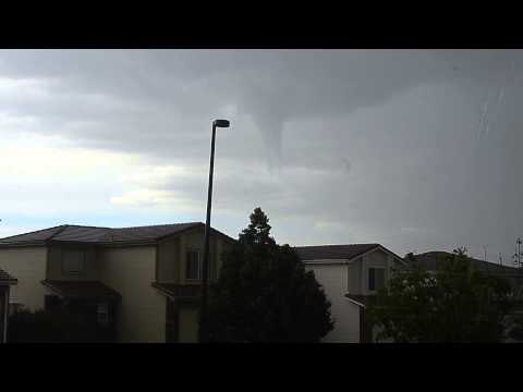 Tornado over Green Valley Ranch Denver