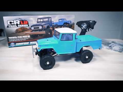 Repeat CR12 Toyota FJ45 Pick-Up RTR by Dollar Hobbyz - You2Repeat