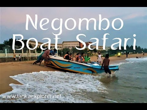 Negombo Beach | Sri Lanka | Negombo Boat Tour| LankaExplorer Holidays