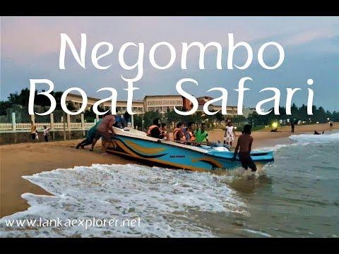 Negombo Beach | Sri Lanka | Negombo Boat Tour| LankaExplorer Holidays