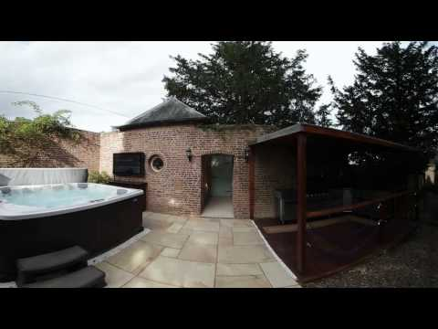 3  Hockwold Hall Spa and BBQ Area