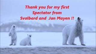 Svalbard and jan mayen first spectator!!!!!!!!!!!!!!!!!!