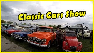 Best Classic and Retro Cars Show in Kiev 2018. Most Biggest Old Motor Show Review 2018
