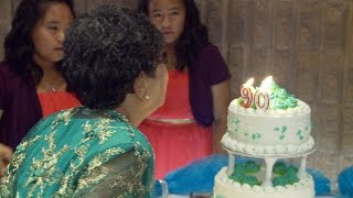 Happy Birthday Song At 90th Birthday Party - Philippine Wedding Photographer Videographer Toronto
