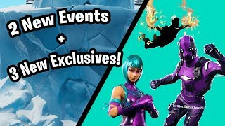 Fortnite | 2 New Events + 3(?) New *Exclusive* Skins!