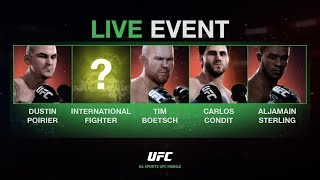 EA SPORTS UFC Mobile. Live Event - Carlos Condit / Tim Boetsch.