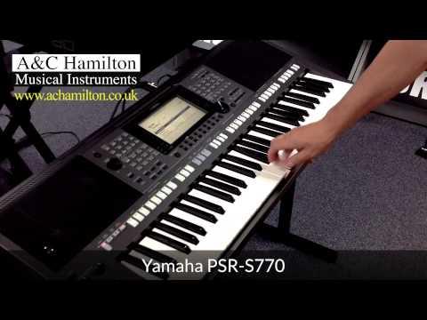 yamaha psr s770 arranger workstation keyboard first look. Black Bedroom Furniture Sets. Home Design Ideas