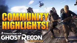 Community Highlights #1 - SUBMIT YOUR CLIPS! - Ghost Recon Wildlands PVP Highlights