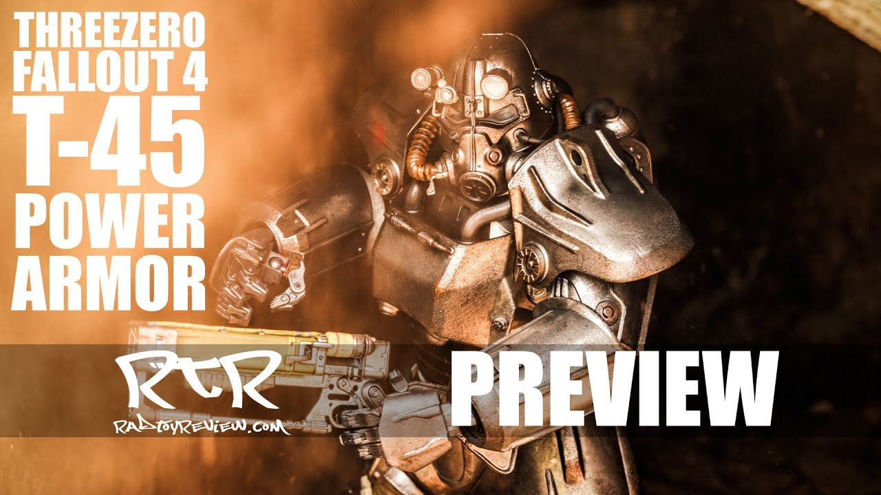 Review* Threezero's Fallout 4 T-45 | Rad Toy Review