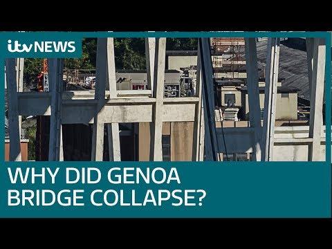 Why did Morandi Bridge in Genoa collapse? | ITV News