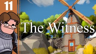 Let's Play The Witness Part 11 - Castle Hedge Maze