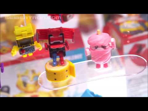 Transformers Botbots toy products from Hasbro shown at SDCC 2019