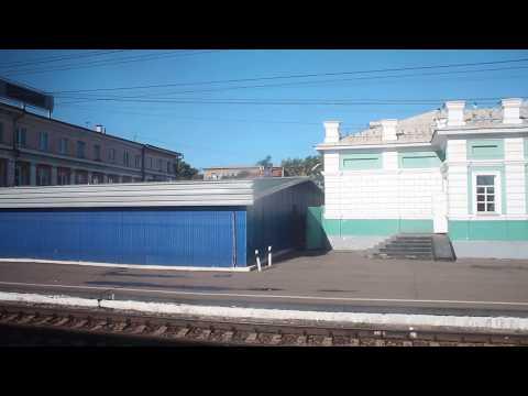 Отправление со станции Иркутск-Пассажирский