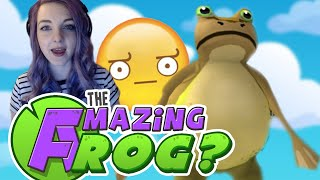 Frog Simulator | The Amazing Frog? Goes to the Gym
