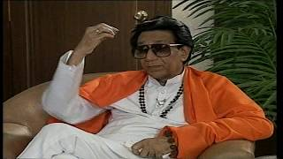 Rubaru: old interview Bal Thackeray with Rajeev Shukla (part5)