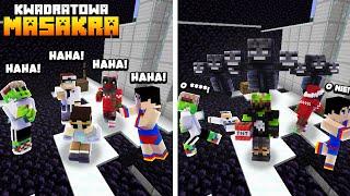 OSZUKALI MNIE, więc JA ZAMIENIŁEM SIĘ W MAGISTRA! Minecraft Kwadratowa Masakr