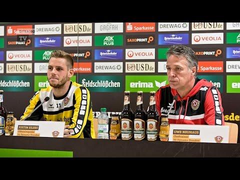 16. Spieltag | SVW - SGD | Pressekonferenz vor dem Spiel