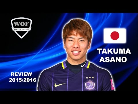 TAKUMA ASANO  浅野拓磨 | Sanfrecce Hiroshima | Goals, Skills, Assists | 2015/ 2016 (HD)