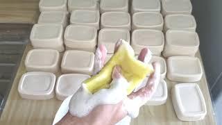 Sabão em Barra – Barato e Duro usando Detergente Sal e 7 Litros de Óleo